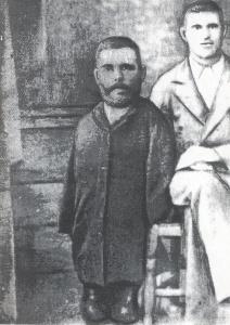 Григорий с брат си Атанасий, снимка от края на 19 в.